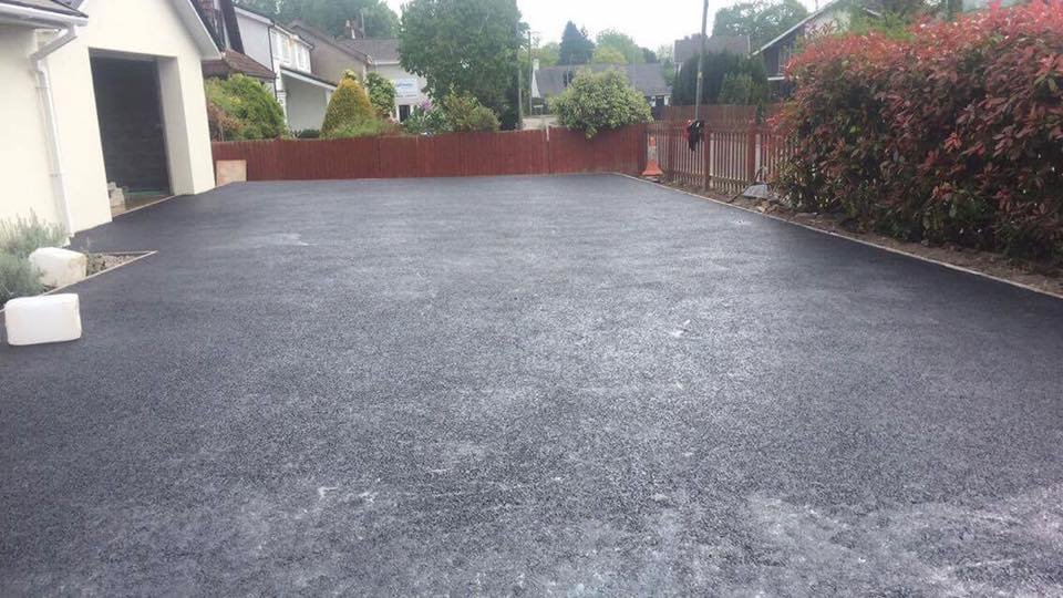 Fine finish by our Tarmac Driveways Swansea Specialists on property in Reynoldston, Gower