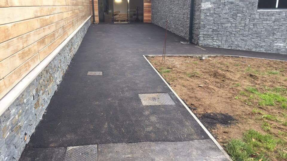 another tarmac section completed by our footways surfacing Swansea specialists in Upper Killay in Swansea